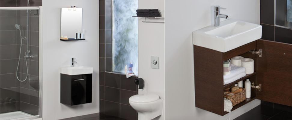 Muebles Para Baño Wengue:Mueble de baño Smart de Tattom para espacios reducidos