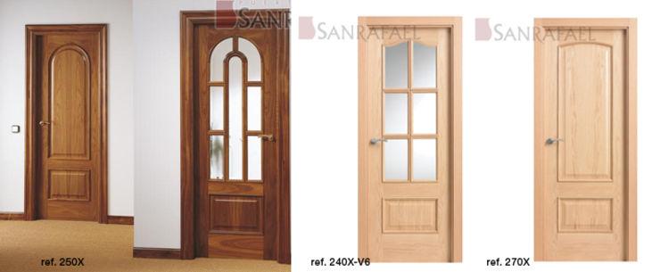 Puertas de madera interiores precios simple puertas de - Precios puertas interiores ...
